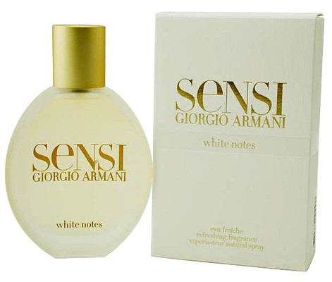 Armani Sensi White Notes Eau Fraiche
